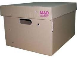 Caja Carton Rigido 42x33x25-403c/Tapa Grande