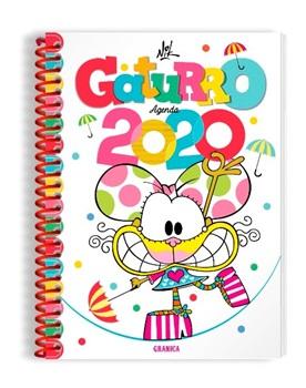 Agenda 2020 Granica Gaturro espiral grande