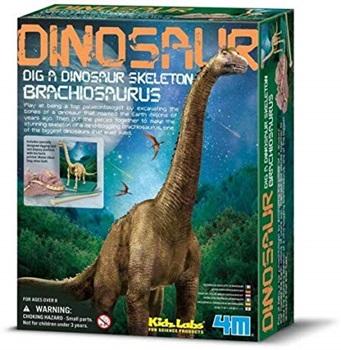4m-Fm237 Dinosaurio Para Armar Brachiosaurus