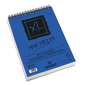 Block Canson xl mix media A4 30 hojas