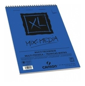 Block Canson xl mix media A3 30 hojas