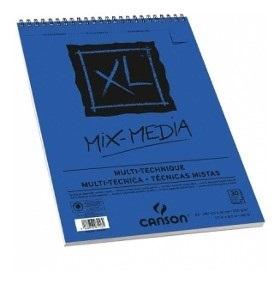 Block Canson Xl Mix Media A3 30 Hojas