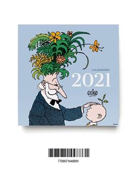 Almanaque 2021 quino pared