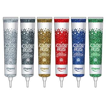 Adhesivo Maped con glitter x 50 ml