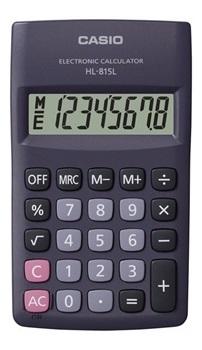 Calculadora Casio hl-815l-bk