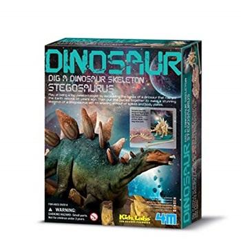 4m-Fm229 Dinosaurio Para Armar Stegosaurus