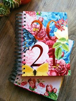 Agenda 2021 Cangini n 7 dia garden espiral