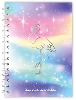 Agenda 2022 Cangini N 7 Dia Flamingo Espiral