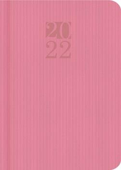 Agenda 2022 Cangini N 7 Dia Pastel Rosa Enc