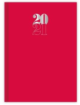 Agenda 2021 Cangini n 7 dia miami rojo cosida