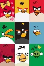 Angry Birds cuaderno 16 x 21 tapa dura