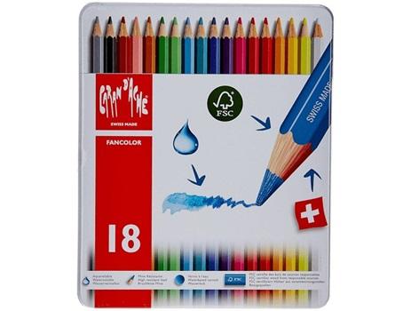 Lápiz color Caran Dache fancolor x 18
