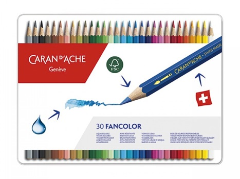 Lápiz color Caran Dache fancolor x 30