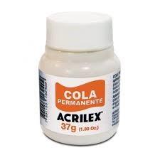 Cola permanente Acrilex x 37