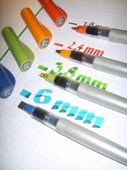 Lapicera Pilot parallel pen 6,0 mm