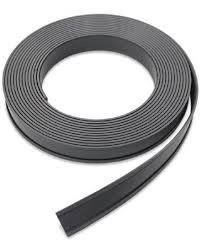 Imanes negro flexibles cinta x mt