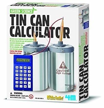 4m-fm360 green science-tin can calculator