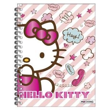 Kitty Cuaderno A4 Tapa Dura 120hs Mooving