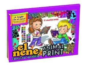 Block N 5 El Nene 24 Hs Animal Print