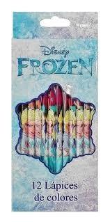 Frozen Lapiz Color X 12