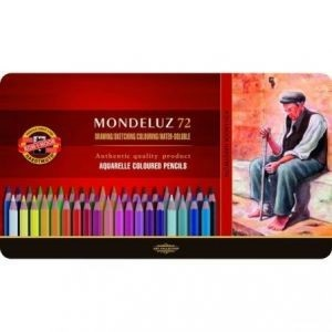 Lápiz color Kohinoor mondeluz x 72 aqua-3727