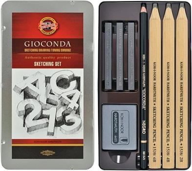 Lápiz negro Kohinoor sketching set-8892
