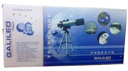 Didactica-telescopio f400 x 70