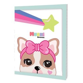 Simones cuaderno 16 x 21 tapa flexible x 48