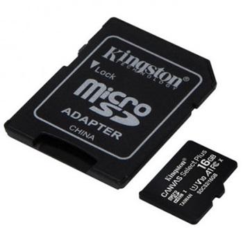 Tarjeta de memoria 16gb sdhc con adaptador Kingston