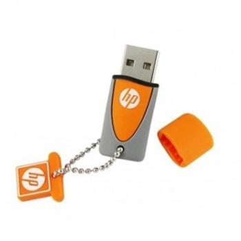 Pen Drive H P 16gb 245 Naranja