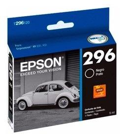 Cartucho Epson t296 negro