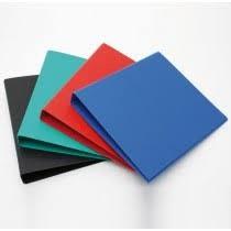 Carpeta carton Oficio 2 aro 20 mm Rab azul