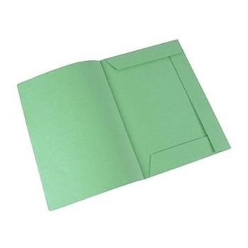 Carpeta carton Oficio 2 aro 40 mm Rab verde