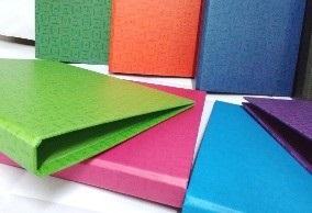 Carpeta carton A4 2 aro 20 mm Rab azul