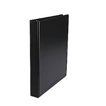 Carpeta carton A4 2 aro 20 mm Rab negro