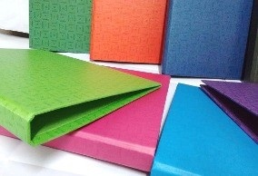 Carpeta carton A4 2 aro 20 mm Rab verde