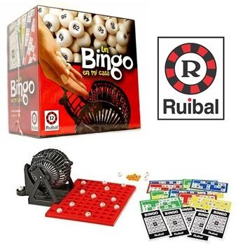 Bingo En Casa Con Bolillero Ruibal