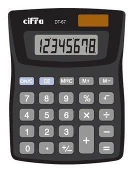 Calculadora Cifra dt- 67