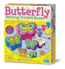 4m-fm664 butterfly nestin trinket boxes
