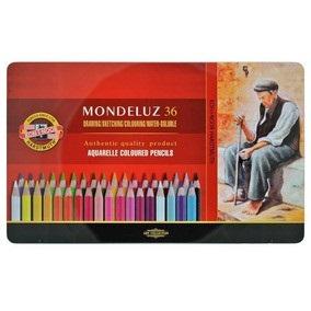 Lápiz color Kohinoor mondeluz x 36 aqua-3725