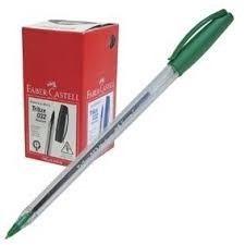 Bolígrafo Faber-Castell 032 trilux verde