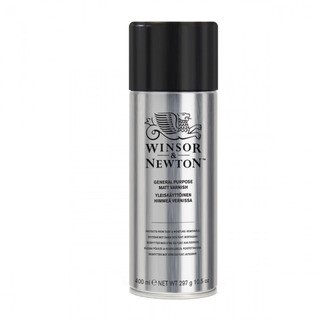 Barniz Winsor aerosol 400 cc semimate