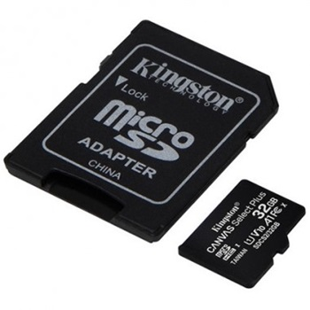 Tarjeta de memoria 32gb sdhc con adaptador Kingston