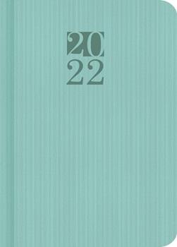 Agenda 2022 Cangini N 7 Dia Pastel Verde Enc