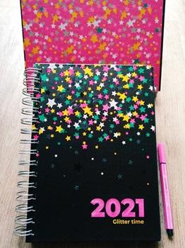Agenda 2022 Cangini N 7 Dia Estrellas Multi Espiral