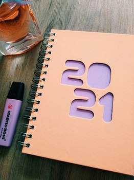 Agenda 2022 Cangini N 7 Semana Blue Night Espiral