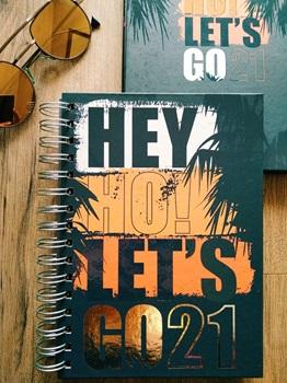 Agenda 2022 Cangini N 7 Dia Hey Ho! Espiral