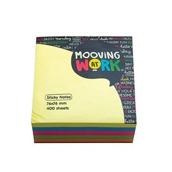 Post-it Mooving 51 x 51 taco neon 250 hojas