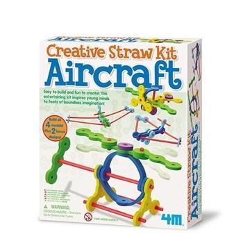 4m-Fm624 Creative Straw Kit Aircraft