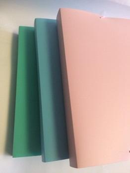Caja plástico Rideo of c/elas pastel 4 cm